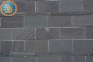 Grey White Sandstone with Honed for Finish Floor Paving Wall Tile