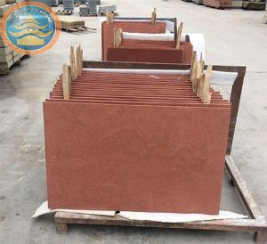 Red Sandstone Paving