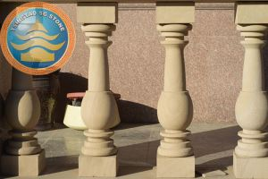Yellow Sandstone Balustrade