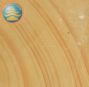Yellow Wood Grain Sandstone Paving